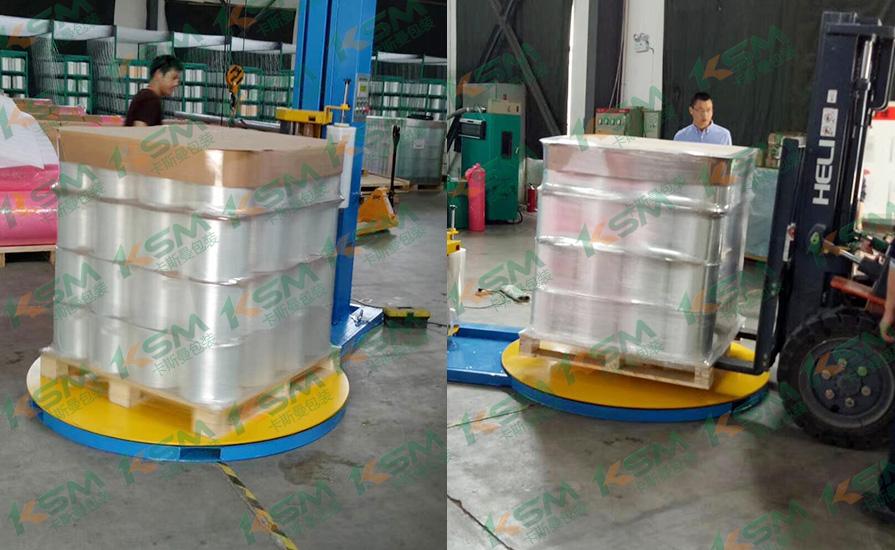 包装机日用品行业案例