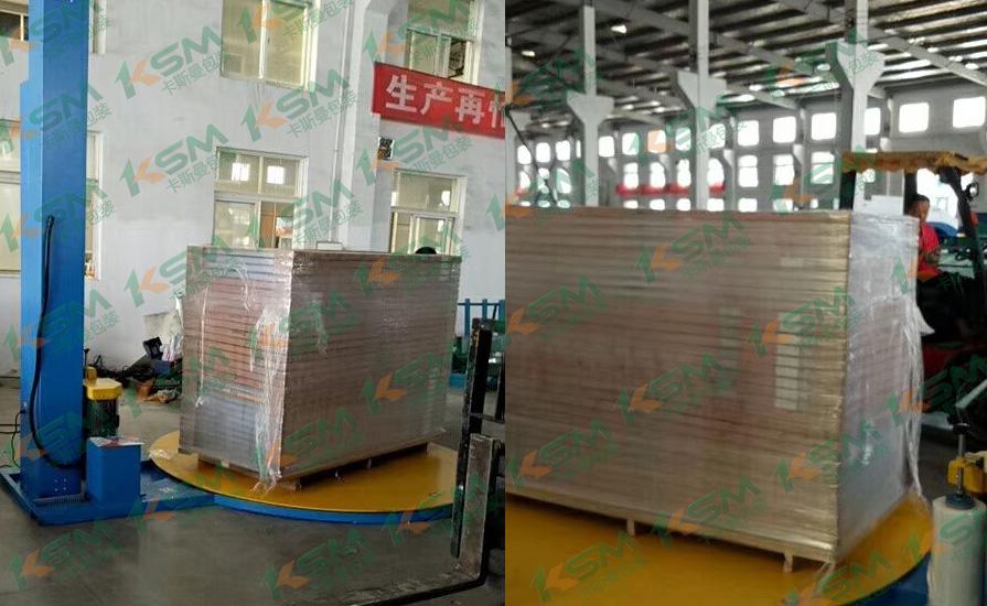 卡斯曼包装机建筑材料行业案例